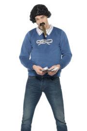 déguisement pablo escobar, déguisement série télé, déguisement colombien, déguisement avec perruque, déguisement de pablo escobar Déguisement de Pablo Escobar, avec Perruque