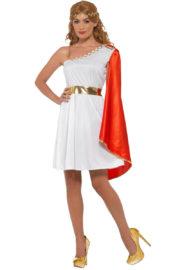 déguisement de déesse romaine, costume de romaine, déguisement de romaine, déguisement toge romaine pour femme, déguisement antiquité romaine femme, déguisement antiquité femme, déguisement de romaine Déguisement Romaine, Toge Rouge et Feuilles d'Or