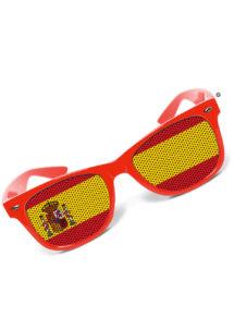 lunettes espagne, accessoires coupe du monde 2018, accessoire espagnol, soirée à thème espagne, déguisement espagnol, lunettes drapeaux, supporter espagnol, Lunettes Drapeau Espagnol