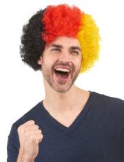 perruque supporter allemagne, perruque coupe du monde, perruque allemagne, accessoire allemagne Perruque de Supporter, Allemagne