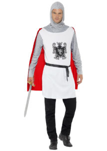 déguisement de chevalier homme, costume chevalier homme, déguisement chevalier adulte, costume médiéval homme, déguisement médiéval homme, Déguisement Médiéval, Chevalier Silver