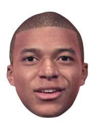 masque kylian mbappé, masque de mbappé, coupe du monde 2018, masque de footballeur Masque de Kylian Mbappé