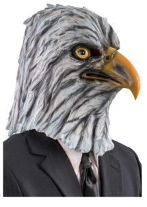 masque d'aigle, masque d'aigle latex, masque animal, masques d'animaux, masques aigle royal, Masque d'Aigle Royal, Latex
