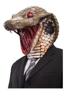 masque de cobra, masque de serpent, masques animaux latex, masque latex animal, masque de serpent, Masque de Cobra, Serpent Cracheur, Latex