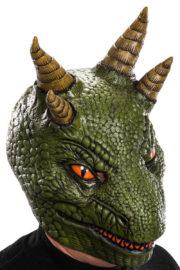 masque dragon, masque animal, masques animaux, masque de dragon en latex Masque de Dragon, Reptile, Latex