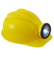 casque de chantier, casque chantier lumineux, casque de chantier rigide Casque de Chantier Rigide avec Lampe Frontale