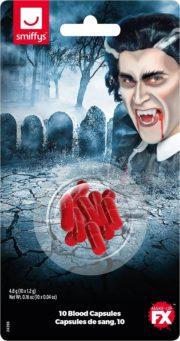 faux sang réaliste, faux sang, maquillage faux sang halloween, faux sang déguisement, faux sang paris, capsules de faux sang, faux sang effets spéciaux Faux Sang en Capsules
