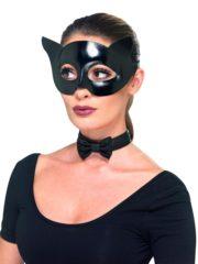 kit de chat cat woman, accessoire cat woman, masque de cat woman, masque de chat Kit Cat Woman, Masque et Noeud Papillon