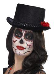 haut de forme, chapeau haut de forme, accessoire halloween, chapeau jour des morts, chapeaux halloween, accessoire dia de la muerte, chapeau Haut de Forme Jour des Morts