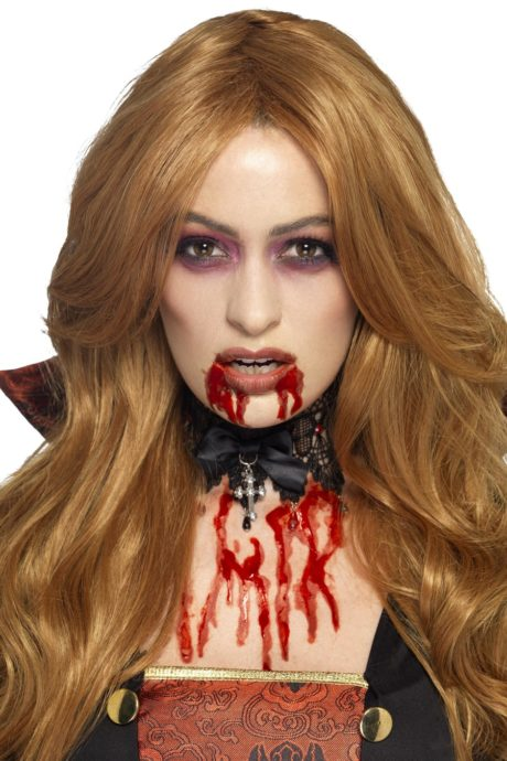 faux sang réaliste, gel faux sang, maquillage faux sang halloween, faux sang de vampire, faux sang paris, faux sang effets spéciaux Faux Sang en Gel