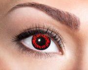 lentilles rouges, lentilles rouges red wolf, lentilles halloween, lentilles fantaisie, lentilles de couleur Lentilles Rouges, Red Wolf