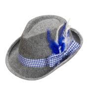 chapeau bavarois, chapeaux tyroliens, accessoires déguisement bavarois,chapeaux paris, chapeau oktoberfest Chapeau de Bavarois, Ruban Bleu