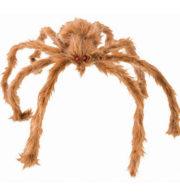 araignée géante, fausse araignée halloween, araignée géante fausse fourrure, araignée d'halloween Araignée Géante, Fausse Fourrure, 80 cm