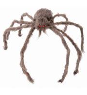 araignée géante, fausse araignée halloween, araignée géante fausse fourrure, araignée d'halloween Araignée Géante, Fausse Fourrure, 60 cm