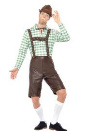 déguisement bavarois, déguisement oktoberfest, déguisement fête de la bière, salopette oktoberfest Déguisement Bavarois Oktoberfest, Salopette Simili et Chemise