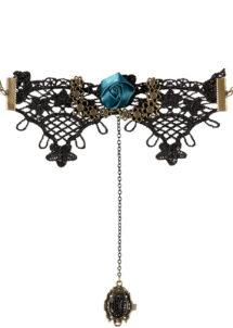 bracelet gothique, bracelet steampunk, bracelet halloween, accessoire steampunk, accessoire gothique, bijoux halloween, Bracelet avec Bague Attachée, Steampunk