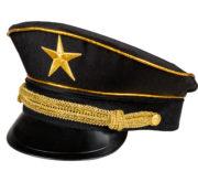 casquette militaire, casquette militaire déguisement, casquette colonel, casquette déguisement, casquette armée, casquette de militaire Casquette Militaire Noire, avec Etoile et Galons Or