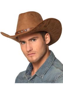 CHAPEAU-COWBOY-54368, Chapeau de Cowboy Nebraska, Marron