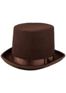 chapeau haut de forme, chapeau marron, chapeau steampunk, chapeau haut de forme qualité, chapeau déguisement, Chapeau Haut de Forme, Luxe, Marron