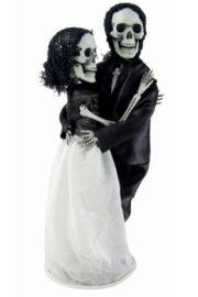 décorations halloween, décoration halloween mariés squelettes, squelettes décoration halloween Couple de Mariés Squelettes Halloween