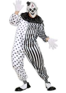 déguisement clown, déguisement clown effrayant adulte, déguisement clown de la mort, déguisement clown tueur, déguisement clown pierrot, Déguisement Clown Pierrot