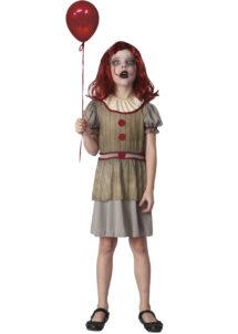 déguisement clown maléfique, déguisement clown ca pour enfant, déguisement halloween clown, Déguisement de Clown Maléfique, Fille