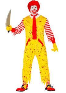 déguisement clown zombie, déguisement clown halloween, déguisement clown mac donald zombie, déguisement clown macdo, déguisement clown mcdo, déguisement ronald mc donald, déguisement ronald mac donald, déguisement mcdo,, Déguisement Clown Ronald McDonald, Zombie
