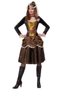 déguisement steampunk, robe steampunk, déguisement steampunk pour femme, Déguisement Steampunk, Robe Courte