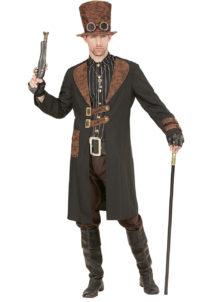 déguisement steampunk pour homme, costume steampunk homme, déguisement steampunk homme, Déguisement Steampunk, Veste Noire