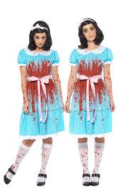 déguisement shining, déguisement soeurs jumelles shining, déguisement halloween, déguisement couple Déguisement Couple, Jumelles Shining