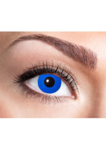 lentilles bleues, lentilles bleues blue elfe, lentilles halloween, lentilles fantaisie, lentilles de couleur, Lentilles Bleues, Blue Elfe