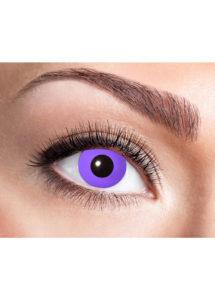 lentilles violettes, lentilles violettes purple gothique, lentilles halloween, lentilles fantaisie, lentilles de couleur, Lentilles Violettes, Purple Gothic