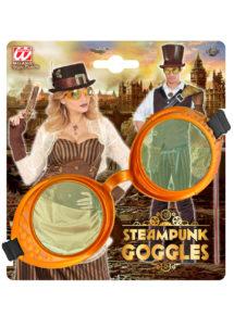 lunettes steampunk, accessoire steampunk, lunettes halloween, lunettes steampunk halloween, lunettes aviateur ancien, lunettes steampunk, Lunettes Steampunk, Gold Vieilli