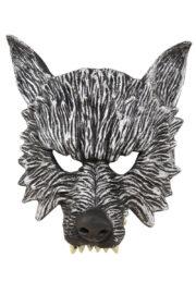 masque de loup mousse latex, masque de loup halloween, demi masque de loup Demi Masque de Loup, Mousse de Polyuréthane