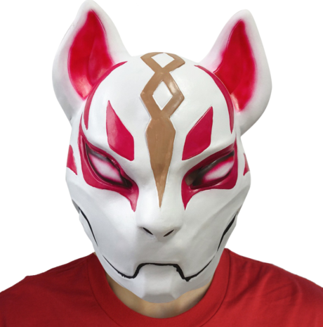 masque fortnite, masque renard fortnite, masque battle royale Masque Fortnite, Renard, en Latex