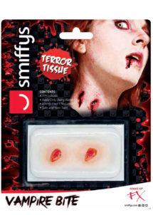 morsures de vampire, effets spéciaux maquillage, effets spéciaux halloween, blessure de vampire maquillage, maquillage halloween, Blessure 3D, Effets Spéciaux FX, Morsure de Vampire