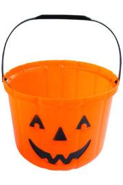seau citrouille halloween, pot à bonbons citrouille, seau citrouille d'halloween, citrouille en plastique Citrouille, Chaudron à Bonbons, GM