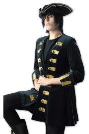 déguisement pirate, déguisement marquis, déguisement gothique, déguisement halloween Déguisement Marquis, Pirate, Gothique, Veste Velours