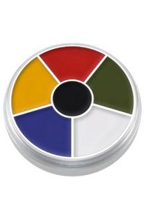 maquillage supracolor kryolan, maquillage oeil au beurre noir, maquillage kryolan, palette supracolor kryolan, Crème Supracolor, Palette Multicolore, Kryolan