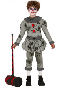 déguisement clown halloween, déguisement halloween enfant, déguisement clown pennywise ça, Déguisement de Clown Penny Vintage, Garçon