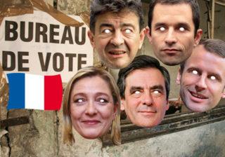 Soirée déguisement décoMasques Politiques et Célébrités