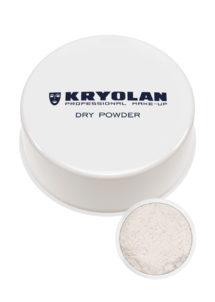 poudre sèche kryolan, poudre de marquis, maquillage poudre libre, poudre blanche pour visage, Poudre Sèche Blanche, Kryolan
