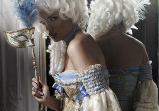 Soirée déguisement déco Marquis, Princesses et Royauté