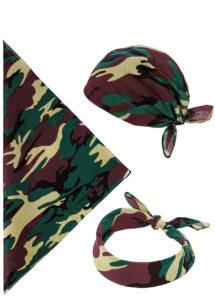 bandana militaire, bandana camouflage, bandana de militaire, Bandana Militaire Camouflage