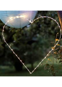 coeur lumineux, décoration led, décoration lumineuse, suspension led, guirlande led, Coeur Lumineux à Suspendre, 49 cm, 40 LED