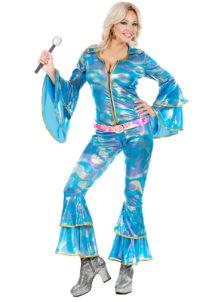 déguisement disco, combinaison disco, déguisement abba, déguisement années 80, Déguisement Disco, Combinaison Abba Disco Queen