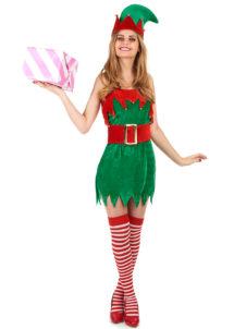 déguisement elfe sexy, déguisement d'elfe, déguisement de lutin femme, costume de lutin, déguisement d'elfe de noel, Déguisement d'Elfe de Noël Sexy