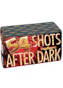feu d'artifice compact, feux d'artifices pour particuliers, feux d'artifices, Feux d'Artifices, Compacts, 54 Shots After Dark, 1 mn