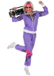 déguisement années 80 femme, déguisement survet disco, déguisement véronique et davina, déguisement années 80 femme, déguisement années jogging années 80, déguisement pour soirée années 80, Déguisement Années 80, Shell Suit Parme, Femme