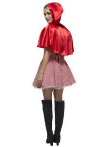 déguisement de chaperon rouge, costume chaperon rouge adulte, déguisement chaperon rouge femme, costume chaperon rouge femme, déguisement héros d'enfance, Déguisement Chaperon Rouge, Sexy Red